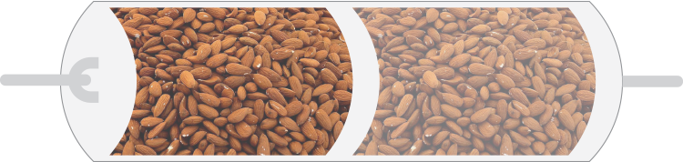 Tube Disc Conveyor for Almonds