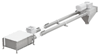 Inline Disc Conveyor System